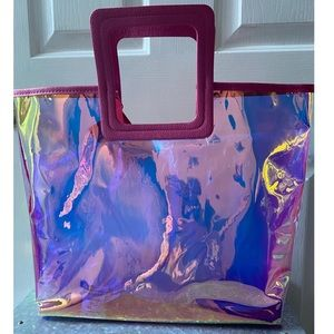 NWT Limited Edition Holographic Juicy Couture Tote